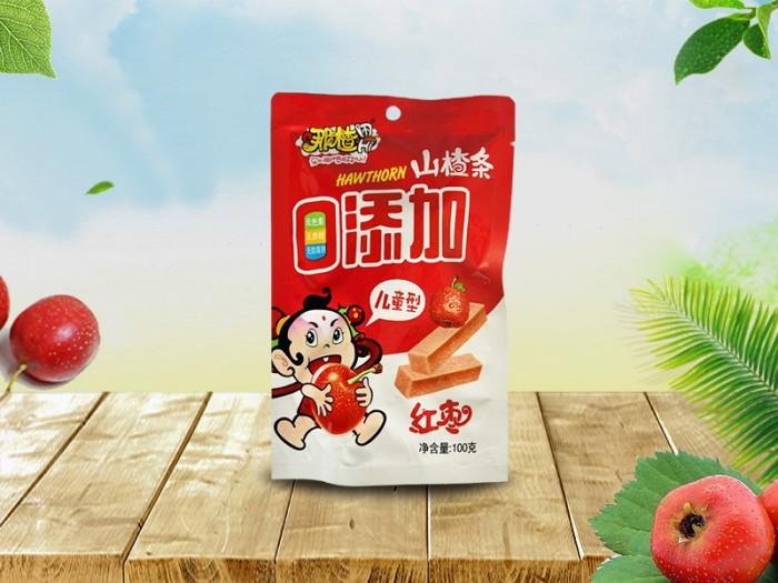 红枣山楂条100g