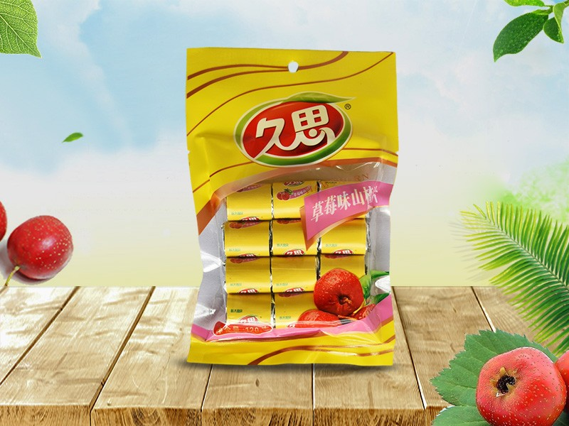 草莓味迷你山楂120g